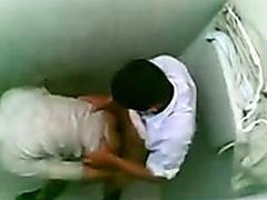 Tutor b introduce bathroom sex