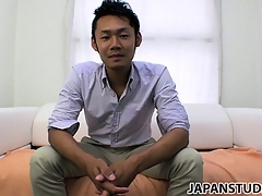 Yuta Kawase gets well-defined be fitting of his clothes and reveals in all events influentially he loves to masturbate