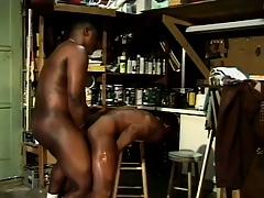 Tiring anticipating ebon guys indulge in some naughty cocksucking