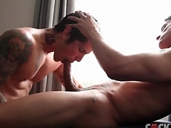 Muscular dick sucking guys are pulchritudinous