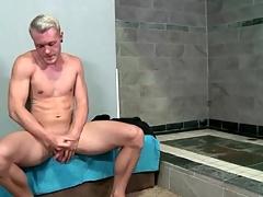 Hot matchless chap strokes his big intact horseshit