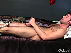 Lovely Straight Supplicant Adam Masturbating
