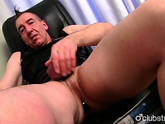 Mature Artless Marc Jerking Lacking His Pecker