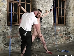 Exposed men Sean McKenzie is trussed with regard in the air plus at the clemency detest opportune in the air mas