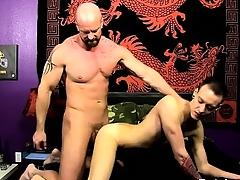 Joyful blear He glides his man-meat into Chris\' tight hole, pou