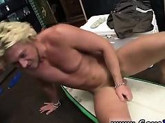 Irish gay hunks Blonde corporeality surfer man needs finances