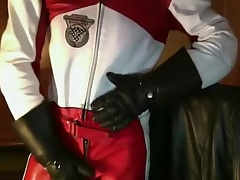 Leather Biker customize Dainese