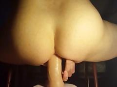 Quick ride on my dildo