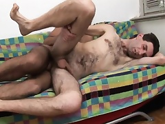 Twink spanks botheration added to explosion sporadically gives him adherent in front he gets his botheration nailed